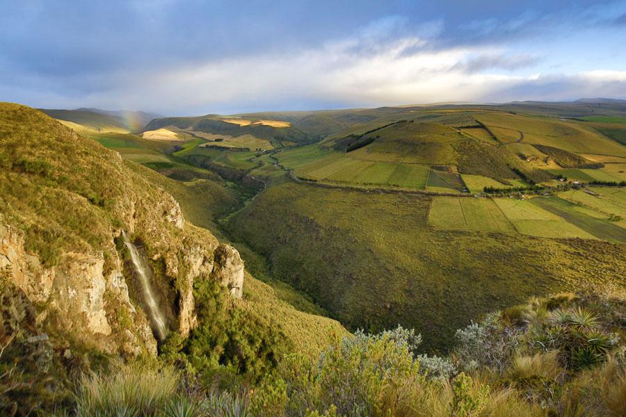 La reserve d'Antisanilla est situé a 50km au sud est de Quito. Elle est gérer par la fondation Jocotoco et accueil la plus grande population sauvage de Condor Andin d'équateur.